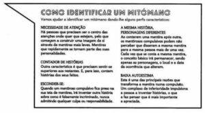 Doença da Mentira - Mitomania
